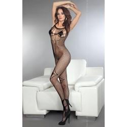 Sexy Διχτυωτή Ολόσωμη Φόρμα Μαύρη Livia Corsetti
