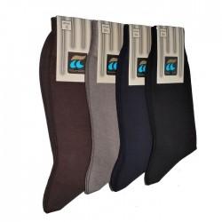 Κάλτσα Ανδρική 100% Βαμβακερή Χωρίς Νάιλον Ελαστική Πλέξη Πουρνάρα