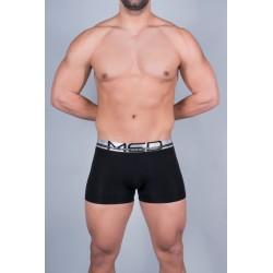 MED Ανδρικό Εσώρουχο Μόδας Boxer Μαύρο Με Ασημί Logan