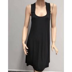 Beachwear Φορεματάκι Μονόχρωμο Σε Μαύρο Και Φούξια Απόχρωση