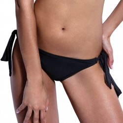 Μαγιό Bikini Σλιπ Μαύρο Κανονικό Με Δέσιμο Στο Πλάι Bluepoint 2020