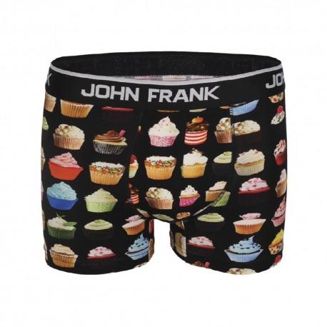 """John Frank Ανδρικό Εσώρουχο Boxer Cupcakes """"JFB55"""""""