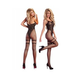 "Sexy Ολόσωμη Φόρμα Μαύρη Αυτοκινήτου Δαντέλα ""Beatriz"" Livia Corsetti"