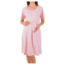 Καλοκαιρινό Νυχτικό Εγκυμοσύνης Με Κουμπάκια Στο Στήθος
