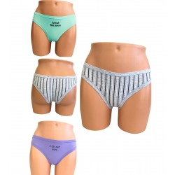 Γυναικείο Brazil Bikini Βαμβακερό 3 Τεμαχίων Χωρίς Λάστιχα Ider