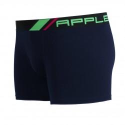 Apple Ανδρικό Εσώρουχο Boxer Βαμβακερό Black/Lime 0110960