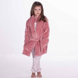 """Παιδικό Κοριτσίστικο Ρομπάκι Coral Fleece """"PRINCESS"""" Secret Point"""